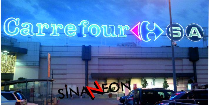 Carrefour Neon Tabela Uygulaması