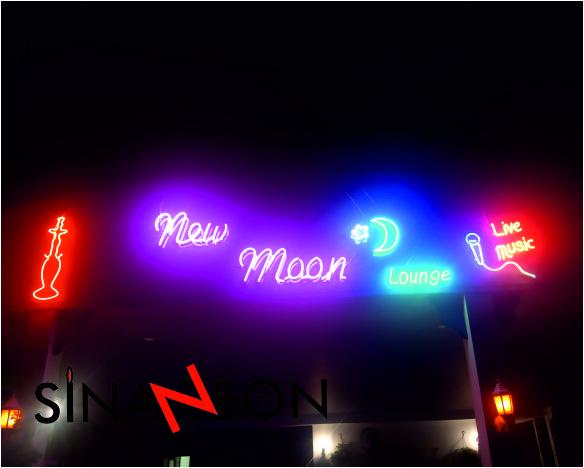 New Moon Neon Uygulaması - Sinan Neon
