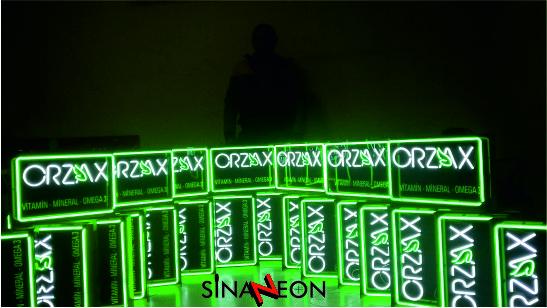 seri neon üretimi - sinan neon