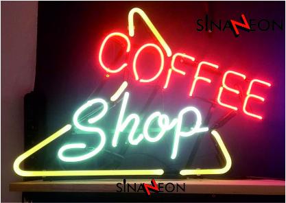 Coffee shop neon uygulaması - sinan neon