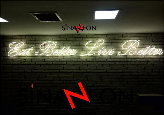 Neon Yazı Uygulaması - Sinan Neon