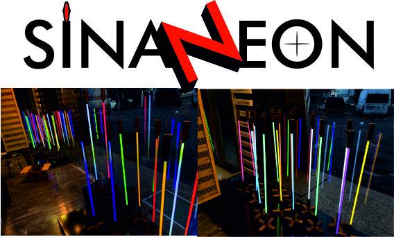 Mağaza Vitrin Neon Uygulaması