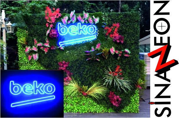 Beko Neon Logo Tabela Uygulaması - Sinan Neon