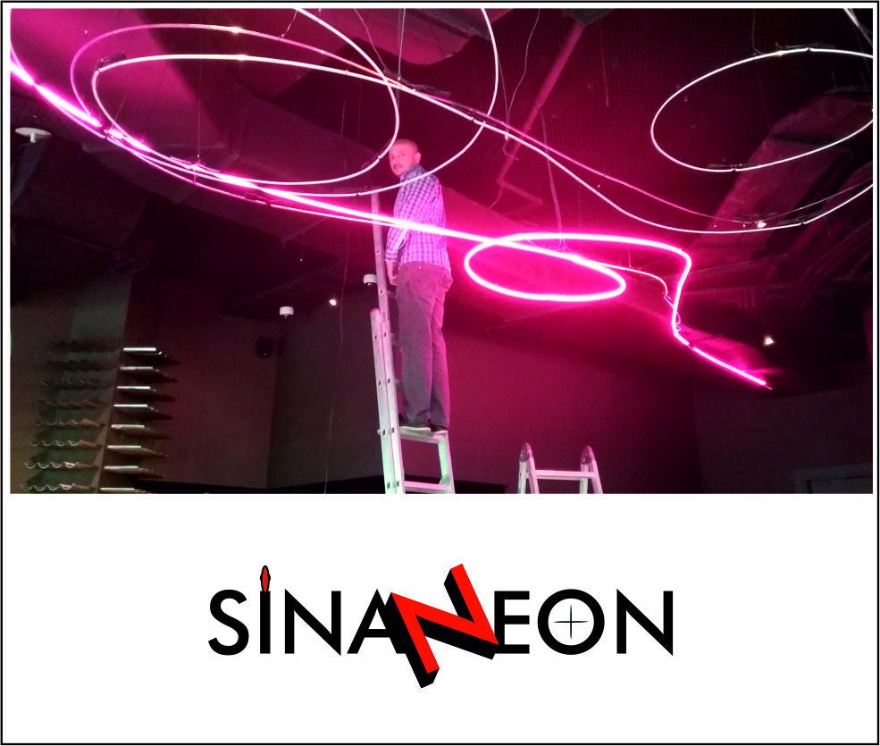 Neon Sign Proje Uygulaması