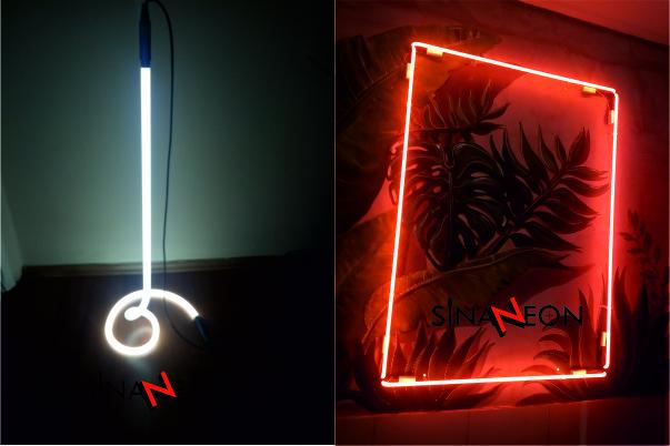 Oda Duvar Neon Aydınlatma