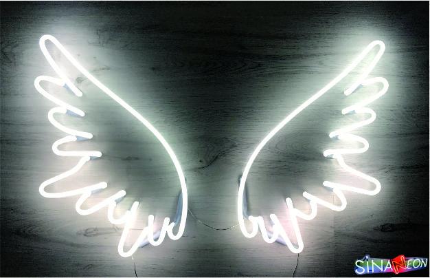 melek kanadı neon ufak modeli