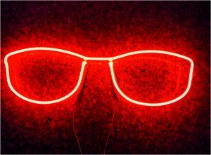 Gözlük Tabelası Neon