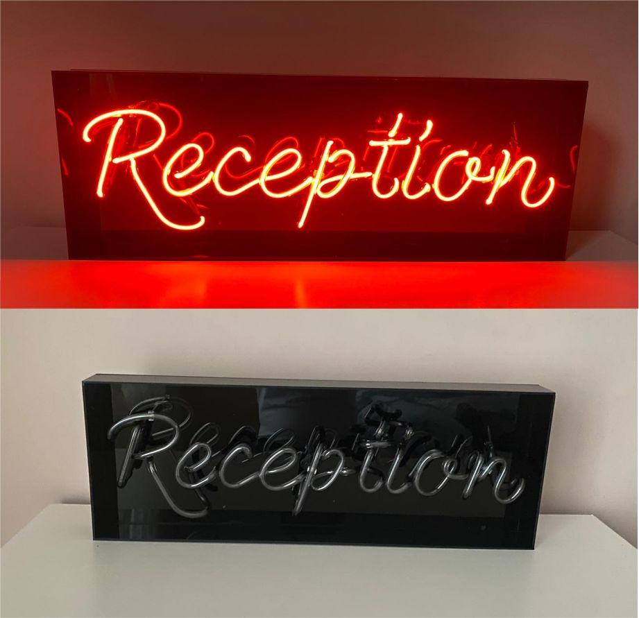 Reception Neon Tabelası - Şok Fiyatlarla